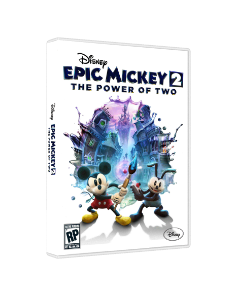 Epic Mickey 2: The Power of Two game box