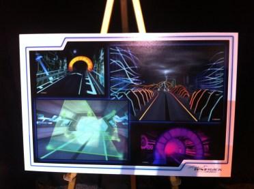 Test Track concept art