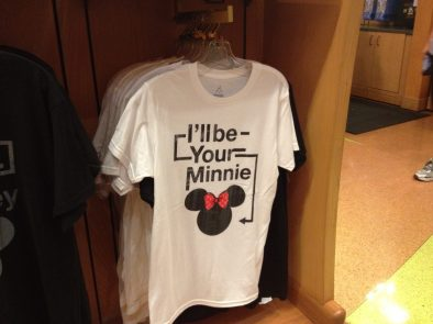 I'll be your Minnie t-shirt
