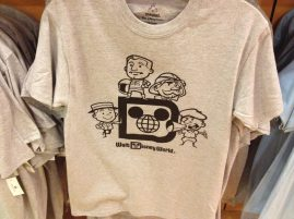 Retro Disney character Friendlyable t-shirt