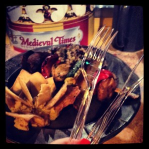 Medieval Times Orlando vegetarian platter