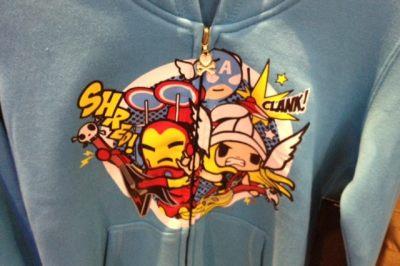 Marvel Tokidoki Iron Man Captain America and Thor