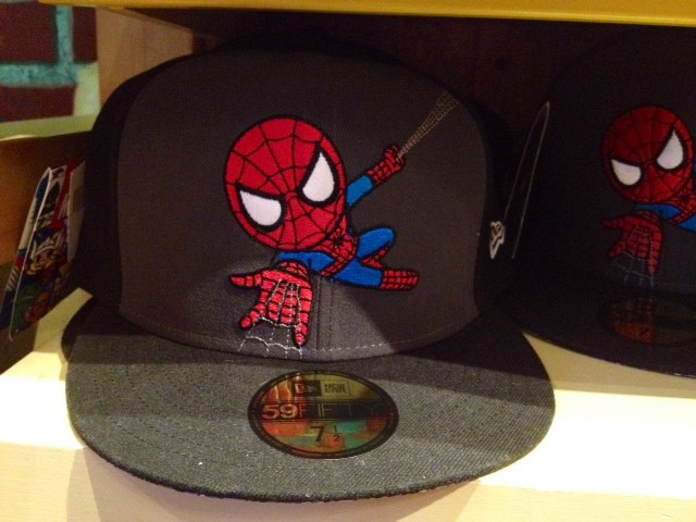 Marvel Tokidoki Spiderman hat