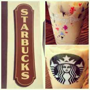 California Adventure Starbucks