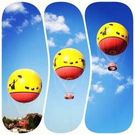 Characters in Flight balloon