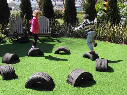 Radiator Springs garden