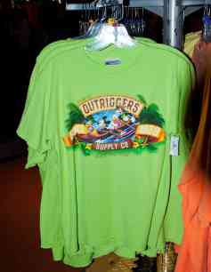 Outriggers Adult T-shirt