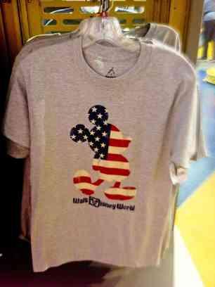 Walt Disney World, Americana Mickey, Adult T-Shirt