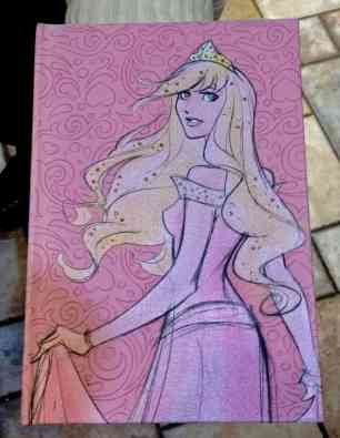 Princess Notebook Front