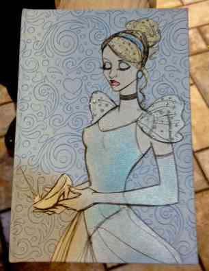 Princess Notebook Back