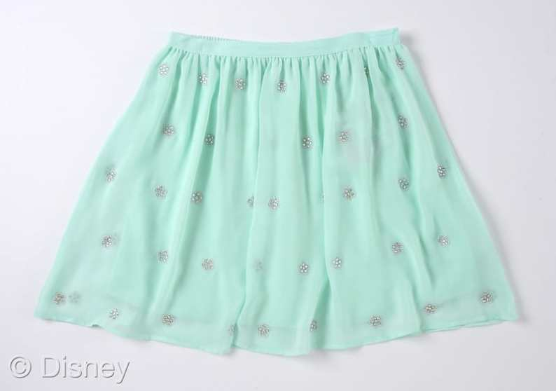 D-Signed Stylediaries Collection Multi Chiffon Skirt with Daisy Detailing