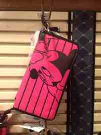 Minnie Mouse Pink Wallet