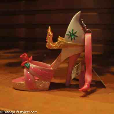 Disney Aurora character-inspired shoe ornament
