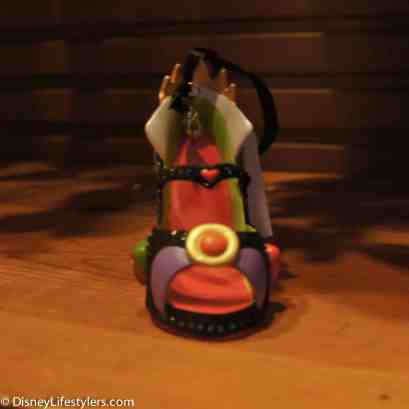 Disney Evil Queen character-inspired shoe ornament