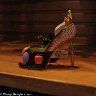 Disney Evil Queen character-inspired shoe ornament