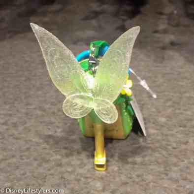 Disney Tinker Bell character-inspired shoe ornament