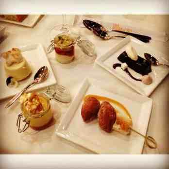 California Grill desserts