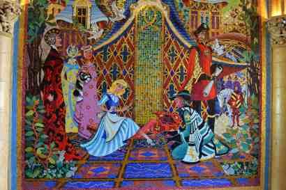 Inside Cinderella Castle