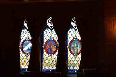 Stained Glass windows tell the Cinderella Story