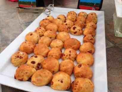 Artisan Cheese Stuffed Craisin Mini Brioche