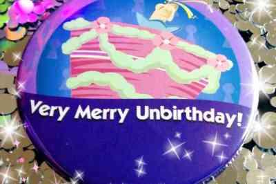 UnBirthday Button
