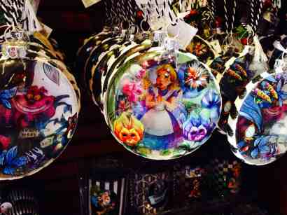 Alice in Wonderland Christmas Ornaments