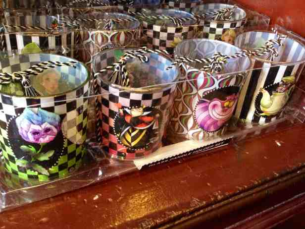 Alice in Wonderland Votive Candle Holders