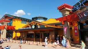 Downtown Disney Marketplace Starbucks