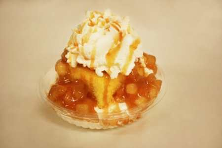 Poison Apple Shortcake Sundae