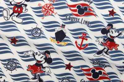 Disney Cruise Line Dooney pattern