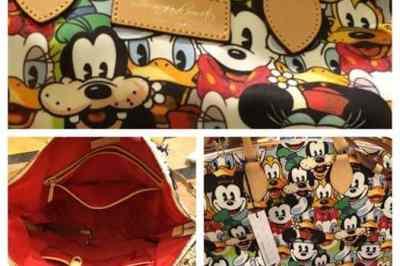 Disney Dooney & Bourke Faces