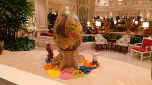 Grand Floridian Easter Eggs 2015