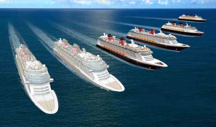 New Disney Cruise Line Ships