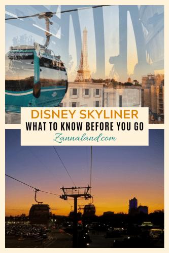 Disney Skyliner pin