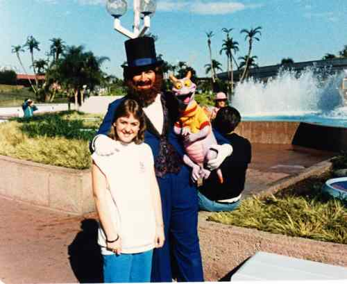 Dreamfinder and Figment EPCOT Center