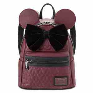 Minnie Mouse Loungefly Velvet Bow