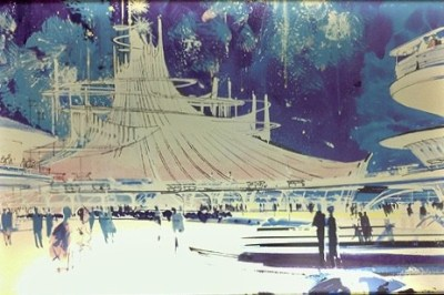 Space Mountain concept art