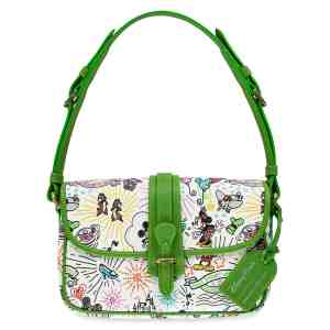 Disney Dooney and Bourke Green Sketch