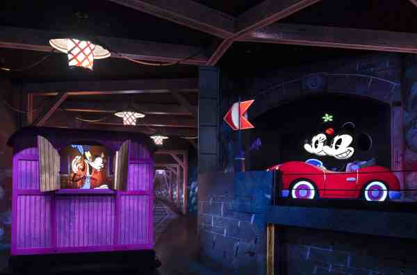 Mickey & Minnie's Runaway Railway ride photo