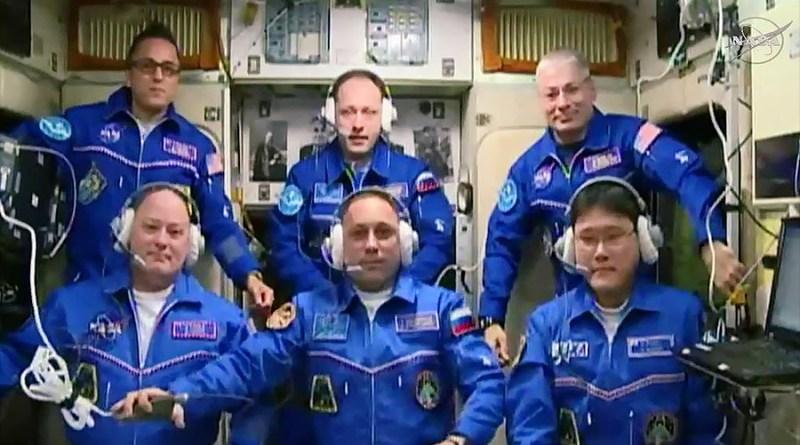 Το Zanneio Stardust στο Διεθνή Διαστημικό Σταθμό