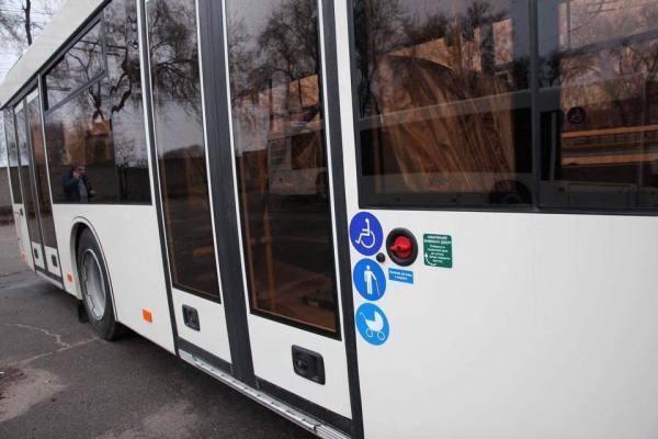 В Запорожье приехала первая партия вместительных автобусов ...