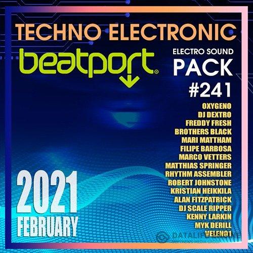 Beatport Techno Electronic: Pack #241 (2021) » Вот заноза!