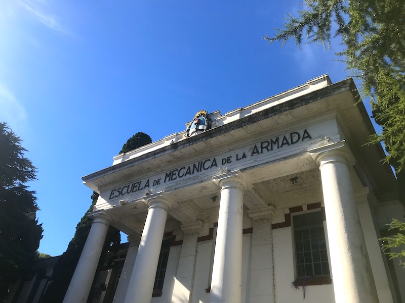 Museu da Ditadura na Argentina - Escuela de La Mecánica da Armada