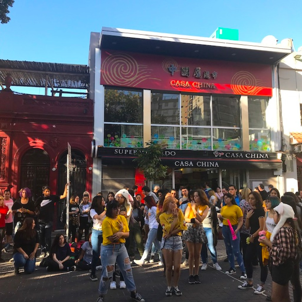 Kpop Argentina no Barrio Chino