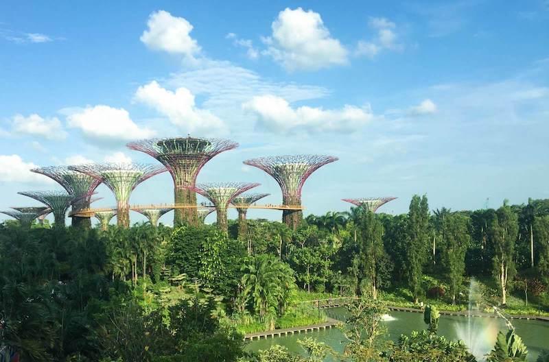 Singapura e seus jardins