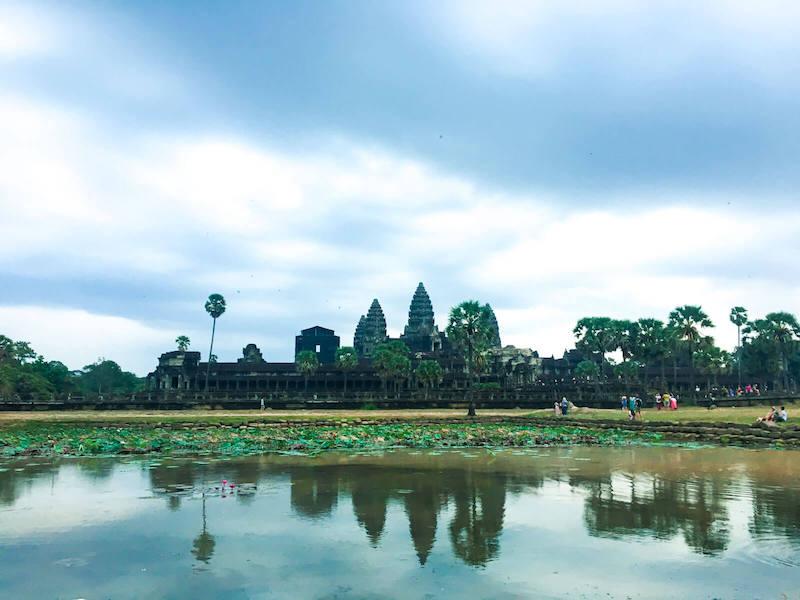 Imperio Khmer no Camboja