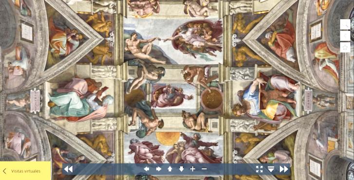 Passeio virtual na Capela Sistina no Vaticano