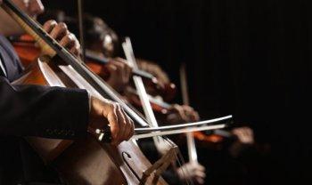 оркестр виолончель