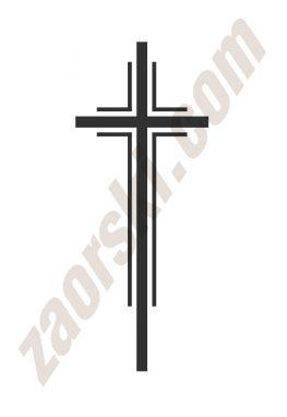 Zaorski - zdobienie krzyżem wariant 20