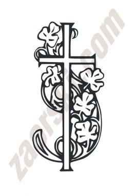 Zaorski - zdobienie krzyżem wariant 22